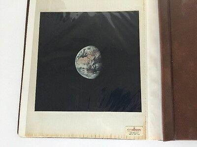 Vintage Scrapbook NASA Moon Space Astronauts Photos Photographs Apollo 11 print