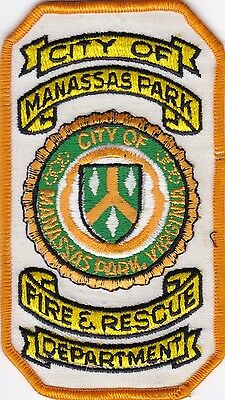 Manassas Park Va Virginia  Fire Rescue Dept. Arm Patch    P485