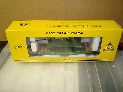 Vintage American Models Burlington Flat Car W Tank HI RAIL  NEW IN BOX