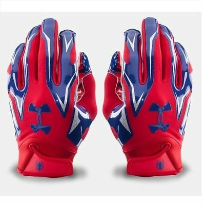Under Armour ALTER EGO F4 Receiver Gloves SPIDER-MAN 1260875 Adult LARGE