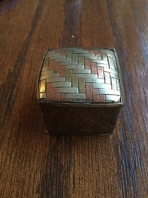 Indian Ring Box Vintage