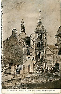 POSTCARD-DEVON,OLD PLYMOUTH-PP,UNPOSTED .dc528