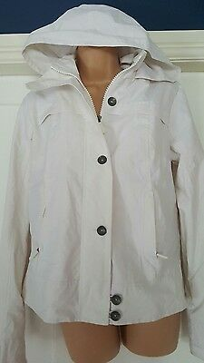 next white mac size 12 coat