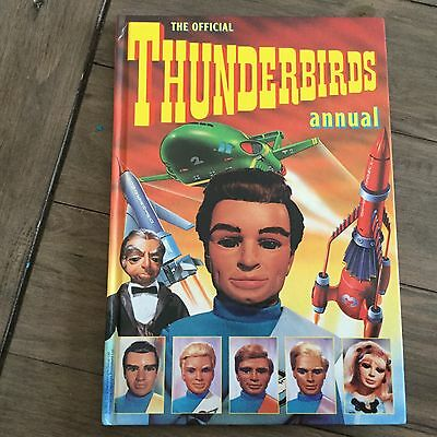 THUNDERBIRDS Hardback Annual 1992