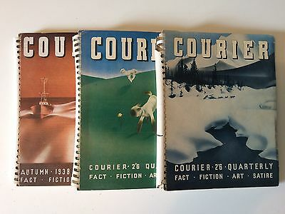 Courier magazine: 3 very rare issues from 1938/39