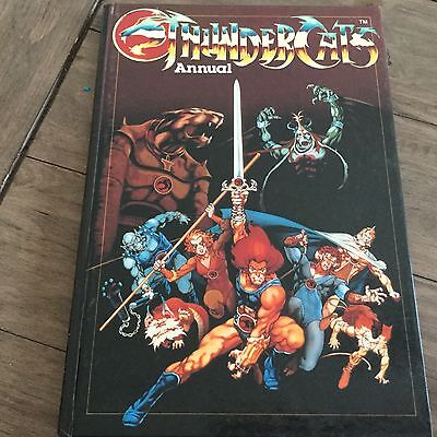 Thundercats Annual From 1987 With Lion-O, Tigra, Panthro, Cheetara And Others