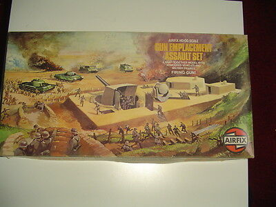 AIRFIX 1/72 GUN EMPLACEMENT ASSAULT SET / Alt