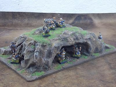 warhammer,  40K , Lord of  the Rings, etc terrain scenery cave