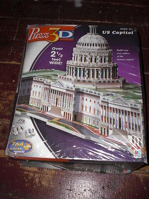 US Capital 3D  Puzzle, (SEALED) NEW!!