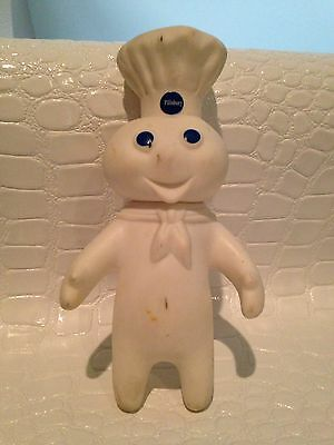 "Vintage Pillsbury Doughboy Vinyl Doll Figurine 7"" 1971"