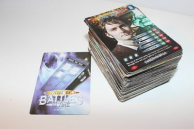 Doctor Who Battles in Time Trading Cards Bundle of 145 Cards (No Doubles)