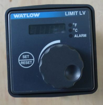 Watlow Limit Lv Lvc6Lw03000700A Tc Type K Temperature Controller
