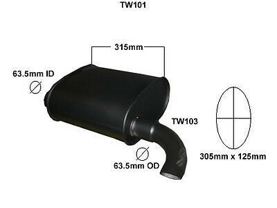 Thwaites 6 Ton Dumper    Exhaust Silencer     (Brand New)