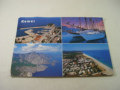 XL009 - Postcard - Kemer, Antalya, Turkey 1999