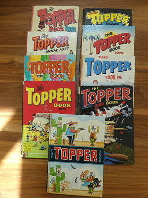 TOPPER ANNUALS – From 1960s and 1970s