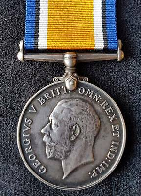 WW1 British War Medal 2nd Bn. Scottish Rifles