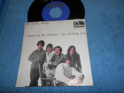 Single    The Pretty Things ‎– A House In The Country / Me Needing You