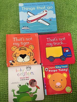 That's Not My Book/Baby Einstein Board Book Bundle