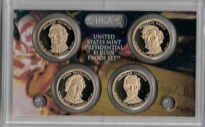 2010S U. S. Mint Presidential Coin Proof Set