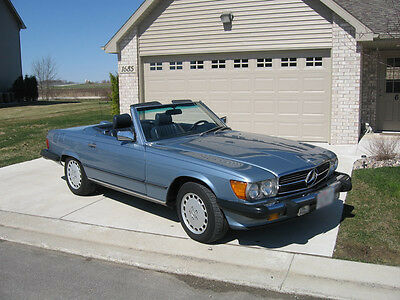 1987 Mercedes-Benz SL-Class  Awesome 1987 Mercedes 560SL Roadster in excellent condition