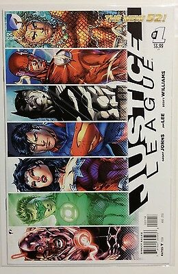 Justice League #1 New 52 Rare 8Th Print Variant! Jim Lee Cover Art! Nm! Unread!