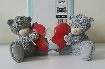 ME TO YOU BEARS FIGURINES ORNAMENTS me & you hearts me and you