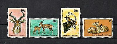 set of 4 mint antilpoe theamed stamps