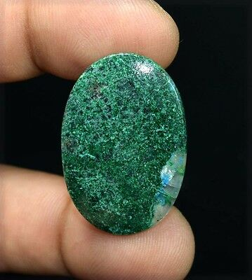 30.45 Cts. 100 % Natural  A+ Chrysocolla Oval Cabochon Untreated Loose Gemstones