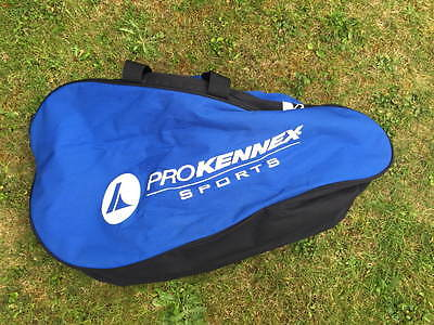 Prokennex Double Tennis Racket  - Would Fit 3/4 Rackets. Shoulder Strap
