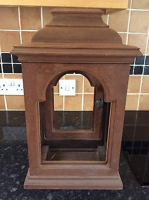 Mahogany, Bell Top Bracket Clock Case for Finishing