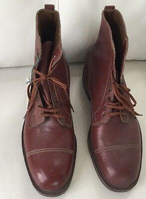 New With Tags Vintage Men's Welted Veldtschoen Size 11 Boots. Rare