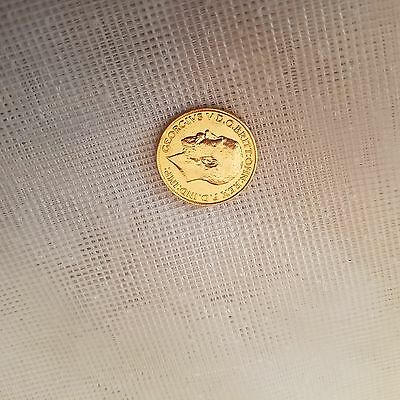 RARE!!! full gold sovereign Geoge V minted in 1918 in India