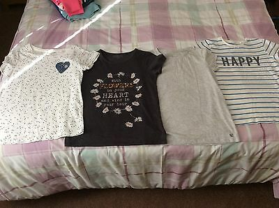NEXT Girls Bundle Of Summer Tops T- Shirts Age 11-12 / 12 Years VGC