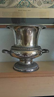 Vintage Large Silver Plated Urn. Made in Spain