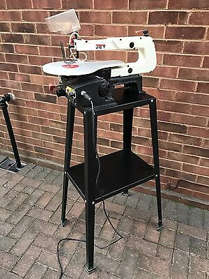 Jet JSS-16A Scroll Saw With Axminster Stand