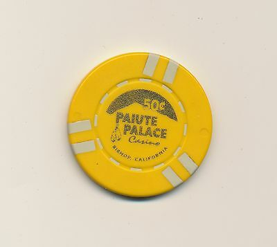 Paiute Palace 50 Cent Casino Chip from Bishop, CA