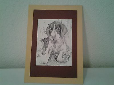 German Shorthaired Pointer Print 5x7
