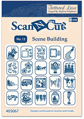 Tattered Lace ScanNCut USB No 12: Scene Building