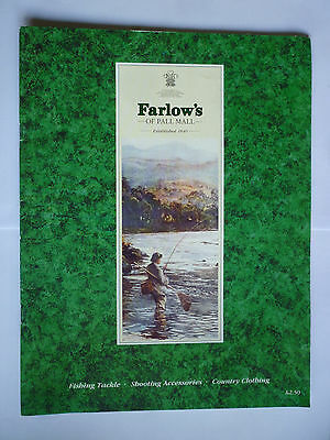 Farlow's of Pall Mall Fishing Tackle/Shooting/Country Clothing Catalogue
