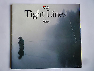 Abu Garcia Tight Lines 1995 Fishing Tackle/Equipment Guide/Catalogue