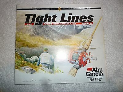 Abu Garcia Tight Lines 2002 Fishing Tackle/Equipment Guide/Catalogue