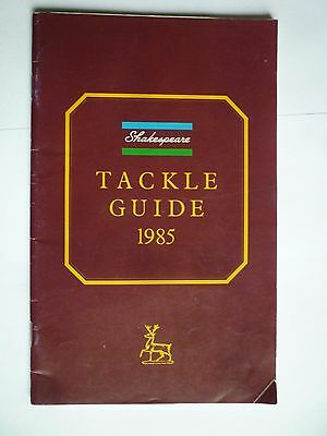 Shakespeare 1985 Fishing Tackle/Equipment Guide/Catalogue (Rods/Reels/Fly/Sea)