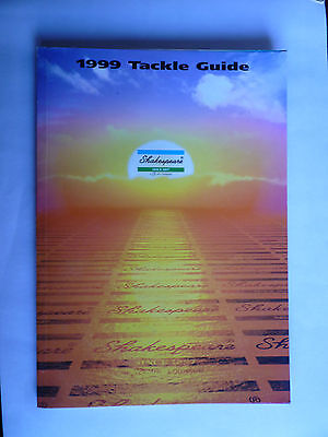 Shakespeare 1999 Fishing Tackle/Equipment Guide/Catalogue (Rods/Reels/Fly/Sea)