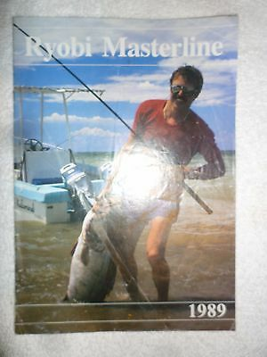 Ryobi Masterline 1989 Fishing Tackle/Equipment Catalogue/Guide