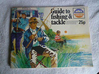Milbro 1973 Fishing Tackle/Equipment Guide/Catalogue (Rods/Reels/Fly/Sea)