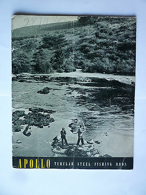 Apollo Tubular Steel Fishing Rods Catalogue/Tackle Guide 1939