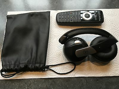 09-2013 Mercedes Benz S Class , CL  front Headphone And DVD Remote Control