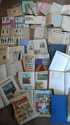Girl Guides Brownies Scouts:london:plumstead:large Ephemera Collection Bowness