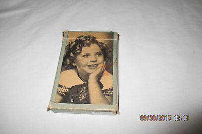 Shirley Temple Deck of Bridge Cards