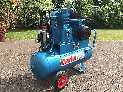 Clarke Industrial Air Compressor 3HP, 2006, Never Been Used
